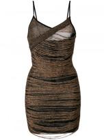 Balmain Fitted Fringe Dress