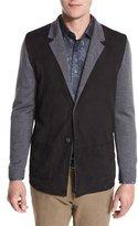 Robert Graham Marco Sweater Jacket, Charcoal