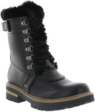Khombu Lug Outsole Zip Faux Fur Boots - Kinsley