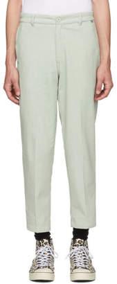 Dickies Construct SSENSE Exclusive Green Straight Slim Corduroy Pants