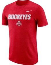 Nike Ohio State Buckeyes Men's Marled Logo T-Shirt