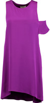 3.1 Phillip Lim Cutout silk crepe de chine mini dress