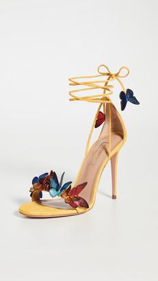 Aquazzura 105mm Papillon Sandals