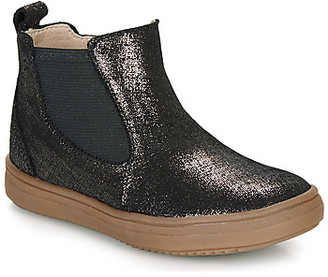 Citrouille et Compagnie PEPINA girls's Mid Boots in Black