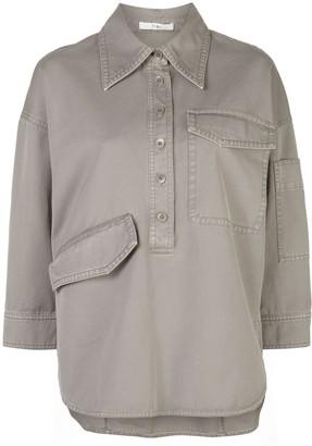 Tibi Oversized Twill Shirt