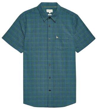 Jack Wills Woodham Seersucker Short Sleeve Shirt