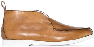 Kiton Fly Runner leather shoes