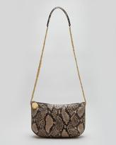 Stella McCartney Faux Python Crossbody Bag, Nude