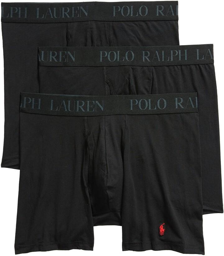 Polo Ralph Lauren 4D 3-Pack Cotton & Modal Boxer Briefs