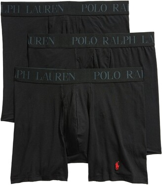 Polo Ralph Lauren 4D 3-Pack Cotton & Modal Boxer Briefs