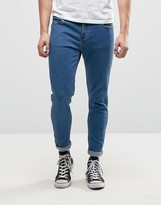 Farah Howells Super Skinny Jeans in Mid Wash