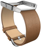 Fitbit Blaze Leather Wristband, Camel, Small