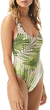 Vince Camuto Reversible One Piece Swimsuit