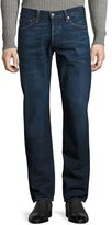 Tom Ford Straight-Fit Denim Jeans, Worn Blue