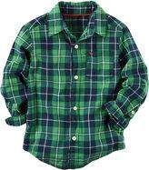 Carter's Button-Front Shirt Boys