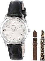 Timex Women's UG0102 Leather Quartz Watch