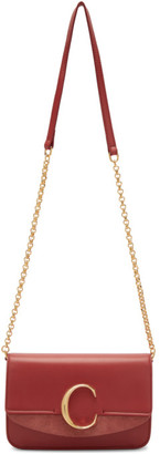 Chloé Pink C Chain Clutch Bag