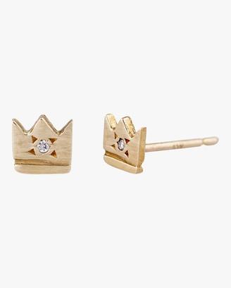 Scosha Crown Stud Earrings