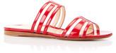 Marion Parke Jojo Geometric Patent Leather Sandals