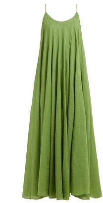 Three Graces London Mabelle Trapeze Maxi Dress - Green