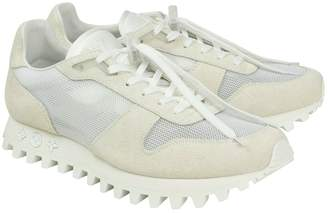 Louis Vuitton White Suede Trainers