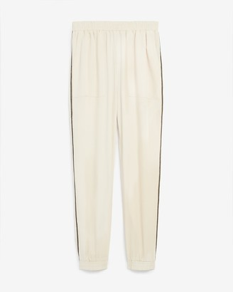 Express High Waisted Embellished Pull-On Jogger Pant