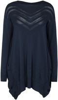 High Suplice Navy Knitted Jumper