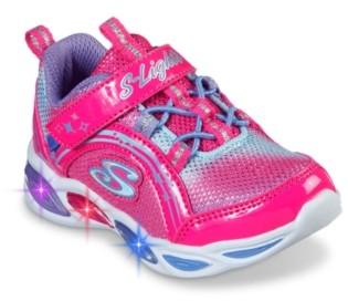 Skechers S Lights Shimmer Beams Light-Up Sneaker - Kids'
