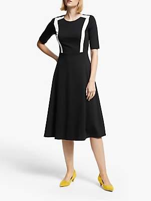 Boden Emily Ponte Dress, Black