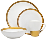Godinger Terre D'or Porcelain Place Setting (4 PC)