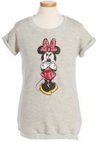 Little Eleven Paris Girl's Minnie Mouse Sweatshirt Dress