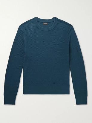Club Monaco Ribbed Wool-Blend Sweater