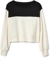 Gap Colorblock pullover crewneck sweater