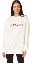 Rodarte Long Sleeve Sweatshirt