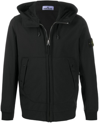 Stone Island Comapss Badge Hooded Jacket