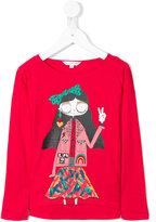 Little Marc Jacobs long sleeve printed T-shirt