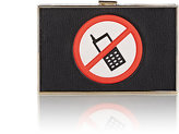 Anya Hindmarch WOMEN'S NO MOBILES IMPERIAL CLUTCH