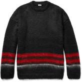 Loewe Striped Mohair-Blend Sweater