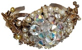 M Line by Monica Macha Small Cuff Bracelet in Crystal and Pearl