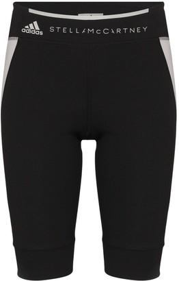 adidas x Stella McCartney contrast panel shorts