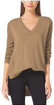 Michael Kors Merino Wool And Cashmere Sweater