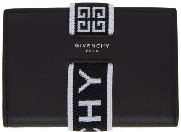 Givenchy Black 4G Urban Elastic Card Holder