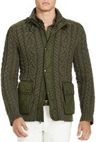 Polo Ralph Lauren Cable Knit Hybrid Sweater Jacket - 100% Bloomingdale's Exclusive