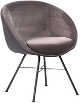 Armen Living Glacier Contemporary Dining Chair