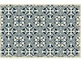 Jayce Quad European Design Blue/White Indoor/Outdoor Area Rug Charlton Home