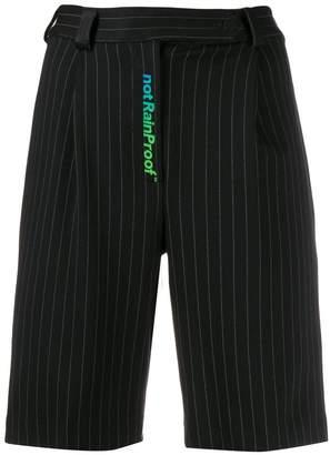 Styland 'not rain proof' print shorts