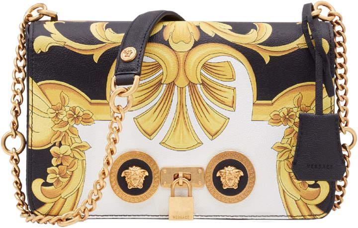 40bf00b733 Baroque Print Medium Icon Leather Crossbody Bag