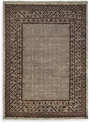 Solo Rugs Traditional Ziegler Hand-Knotted Wool Area Rug