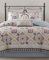 Echo Ibiza Cotton Reversible Full/Queen Duvet Mini Set Bedding