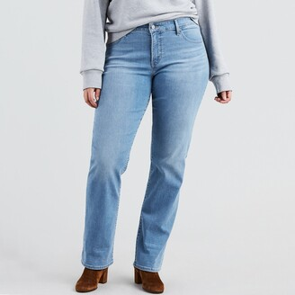 Levi's 314 Plus Size Shaping Straight Jeans